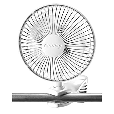 "6"" Air King Clip-On Table Fan"