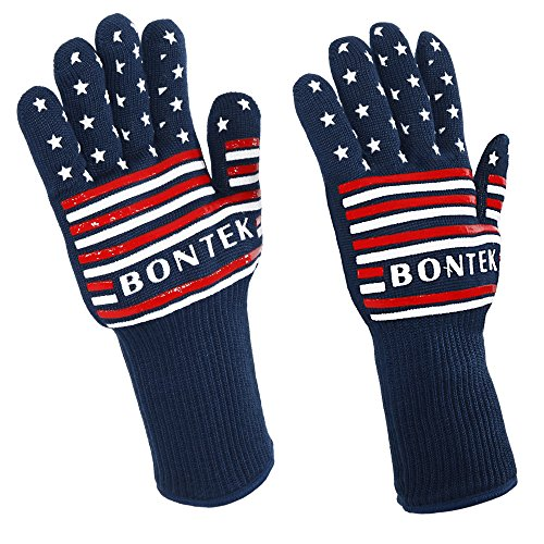 Fire Cut Resistant Grilling Gloves
