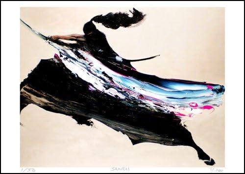 限定50部:版画 山下良平【Samurai】(A2サイズ)