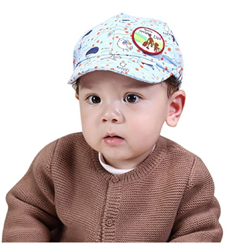Blue Flower Plain Dinnerware (Lookatool Cotton Cute Fashion Baby Girls Boys Kids Baseball Cap Hat Visor (Blue))