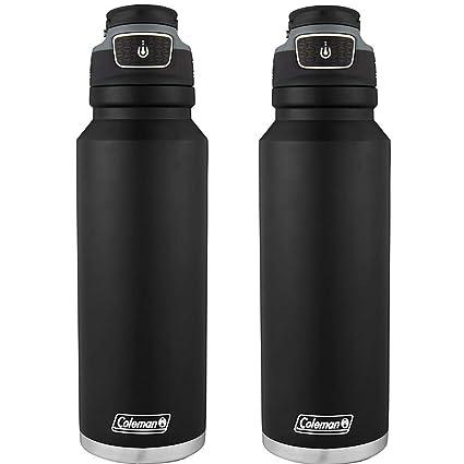 Amazon.com: Coleman FreeFlow AUTOSEAL - Botella de agua de ...