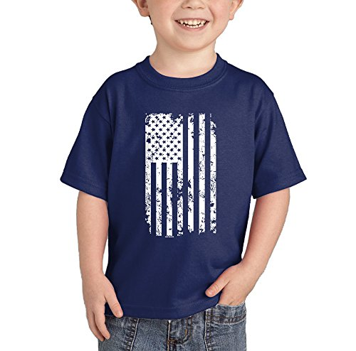 Toddler Infant White American T shirt
