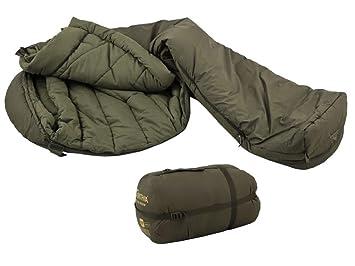 Saco de dormir Carinthia Brenta verde medio modelo 2014: Amazon.es: Deportes y aire libre