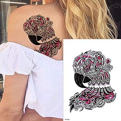 tzxdbh Tatuaje Temporal águila Alce Gato Aves Lobo Tatuajes ...