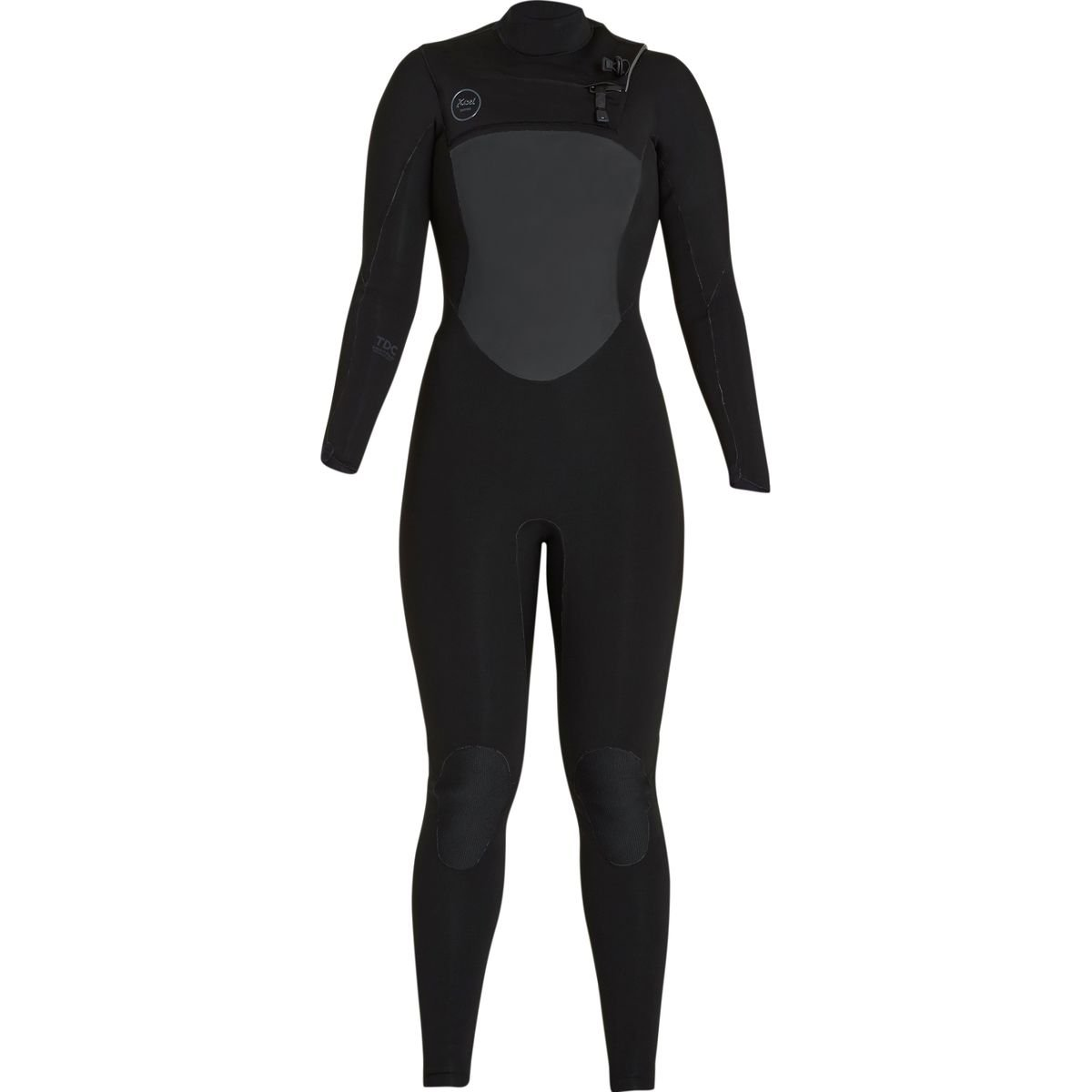 XcelハワイDrylock 3 / 2 mm TDC Full Wetsuit – Women 's B0793171RY 10S|Black/Black Logos Black/Black Logos 10S
