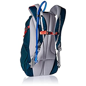 CamelBak Women's Daystar 16 Crux Reservoir Hydration Pack, 2.5 l/85 OZ, Deep Teal/Hot Coral, 2.5 Large/85 Oz