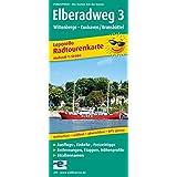 Elberadweg 3, Wittenberge - Cuxhaven: Leporello Radtourenkarte mit Ausflugszielen, Einkehr- & Freizeittipps, wetterfest, reissfest, abwischbar, GPS-genau. 1:50000 (Leporello Radtourenkarte/LEP-RK)