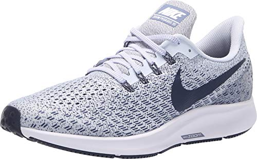 Football Shoes Nike Mens - Nike Men's Air Zoom Pegasus 35 Running Shoe (9.5 M US, Football Grey/Thunder Blue/Diffused Blue)