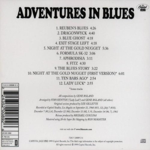 Adventures in Blues by Blue Note Records