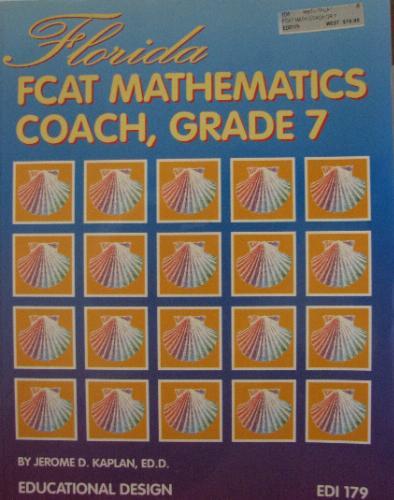 Florida FCAT Mathematics Coach, Grade 7 ebook