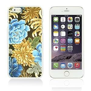 Flower Pattern Hardback Case Cover For LG G3 Smartphone Gold Chrysanthemum