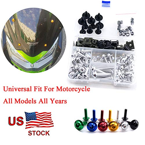 For Honda CBR1100XX CBR 1100 XX CBR 1100XX Blackbird 1996-2005 CNC Fairing Bolt Kit Bodywork Screws M5 M6