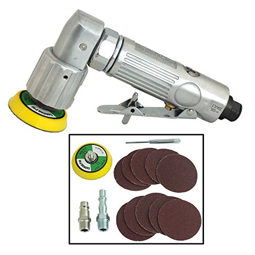 Voche Mini Dual Action Air Sander with 1 Sanding Pad and 10 Discs Voche®