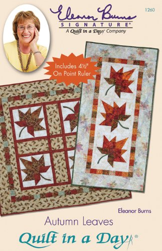 Quilt Day Autumn Leaves Pattern
