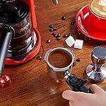 Semi-Automatica-Macchina-del-caff-Semi-Automatico-A-Mano-Operated-Espresso-Machine-Piccolo-Mini-Macchine-da-caff-Schiume-Vuoto-E-caff-Red