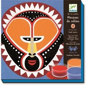 ventas calientes Djeco Colourojo Sand Workshop - Ethnic Masks Masks Masks by Djeco  precios ultra bajos