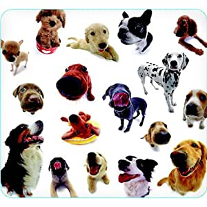Dog Group Mouse Pad