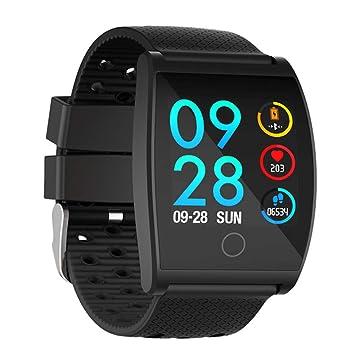 Montre Connectée Connexion Bluetooth IP68 Étanche Multilingue Tracker De Remise En Forme Sports Fréquence Cardiaque Pression