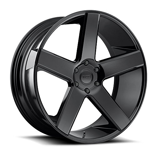 DUB BALLER BL -Gloss BLK Wheel with Painted (28 x 10. inches /5 x 120 mm, 13 mm Offset)