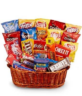 Amazoncom Wonderful Basket Same Day Birthday Gift Snack