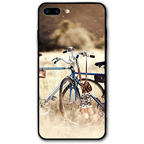 IPhone 7 Plus Case Splendor Field Bicycle Scratch-Resistant Cover Skin Cover For IPhone 7 Plus 5.5 Inch