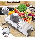 Manual Vegetable Cutter Mandoline Slicer Carrot Grater Julienne...