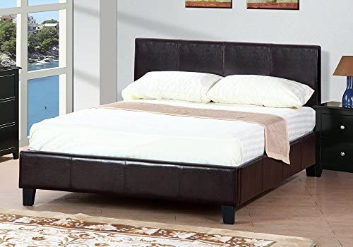 Poundex Queen Platform Bed Frame