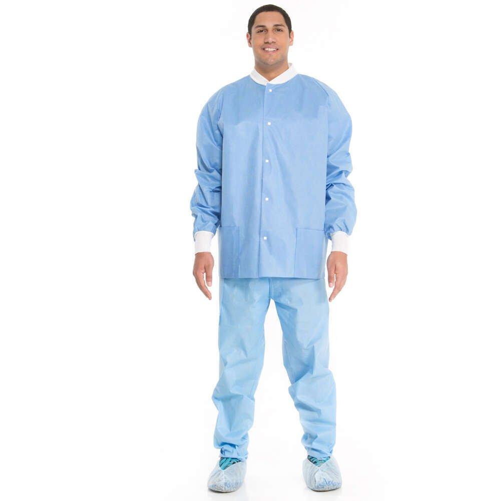 Halyard 10067 Professional Lab Jacket, Medium (Pack of 24) by HALYARD