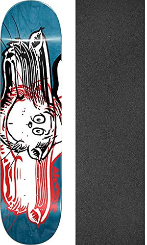 Almost Skateboards Max Geronzi Warped Cat Skateboard Deck Resin-7-8