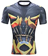 Horries Mens Short Sleeve Cosplay T-shirt