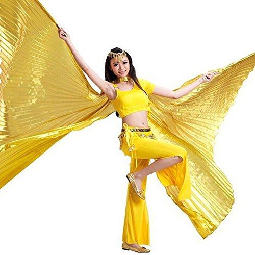 Ailes Gold SHENG Danse Baton NA Accessoires WU 1Pc YI Danse Vente Ailes Belly sans qxOwAFFzf