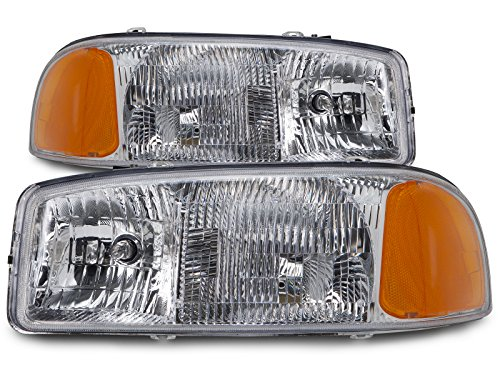 gmc-sierra-yukon-new-headlights-set-headlamps-pair