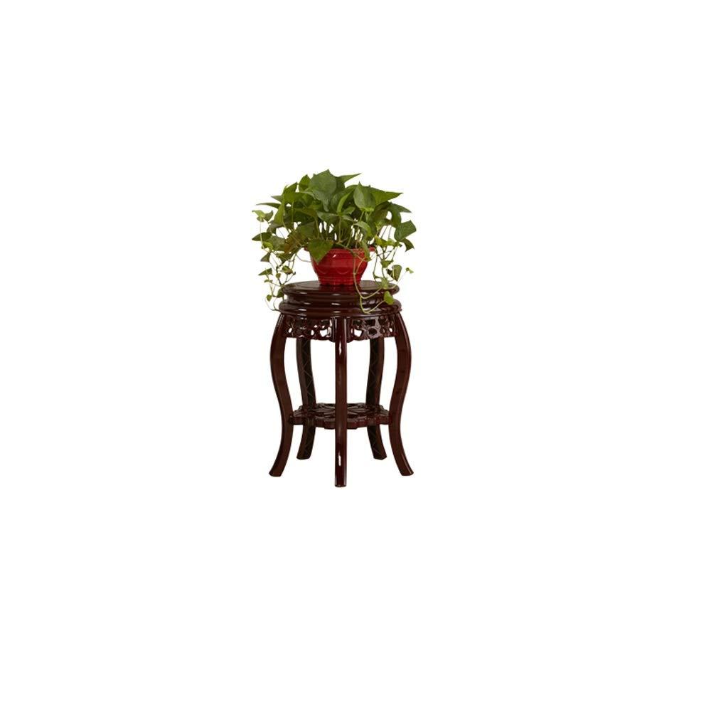 miglior servizio QXX QXX QXX Flower Stand Imitazione Legno Multi-Strato di Protezione Ambientale in plastica Vaso di Fiori cremagliera Singolo Antico Soggiorno Balcone Coperta al Piano di stoccaggio  a buon mercato