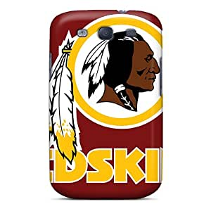 Quality Melodycc Case Cover With Washington Redskins Nice Appearance Compatible With Galaxy S3