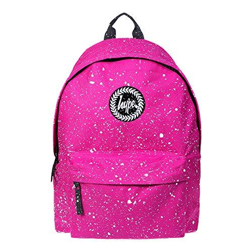 Hype Mochila Bolsas Mochila–Bolso de escuela–muchos estilos nuevos colores y diseños–Elige tu favorito de 30 Pink White Speckle