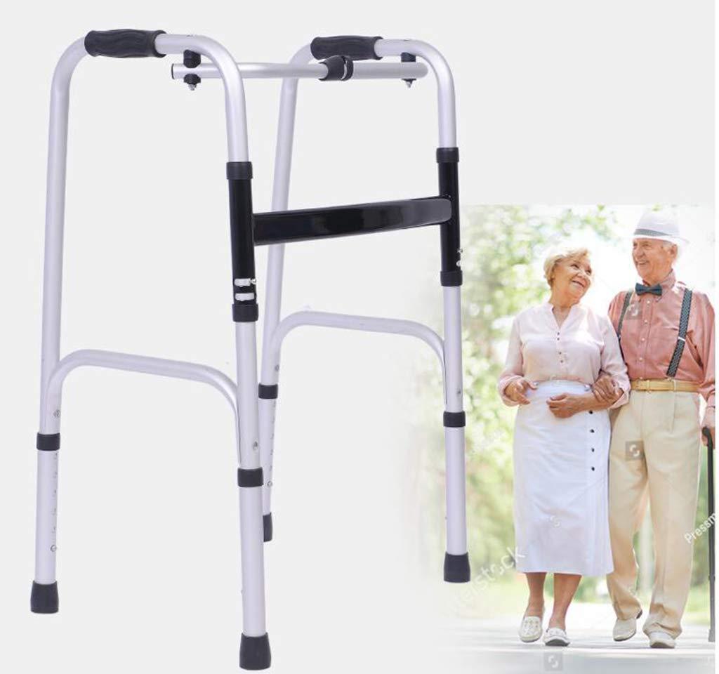 Aleación de Aluminio muleta Antideslizante Ajustable Caminar Stick ...