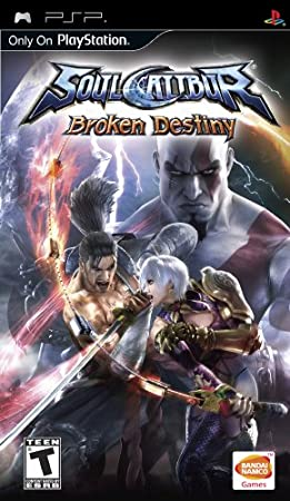SoulCalibur: Broken Destiny - Sony PSP