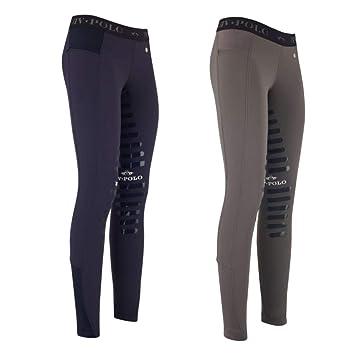 Larissa Knee Legging Hv Polo Déquitation GripSports Et BorxCde