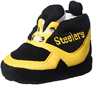 NFL Pittsburgh Steelers Unisex Sneaker Baby Bootie Medium at Steeler Mania