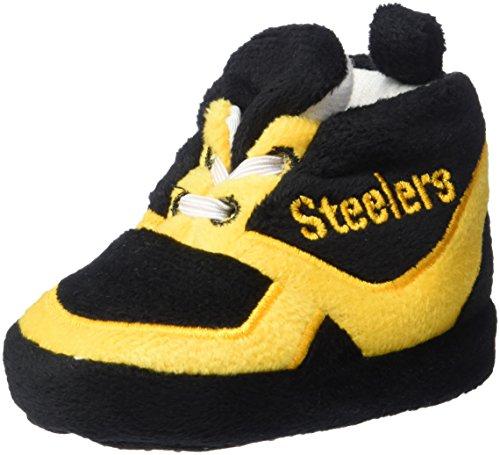 NFL Pittsburgh Steelers Unisex Sneaker Baby Bootie Medium at Steeler Mania
