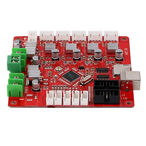 V1.0 Compatible Ramps1.4 3D Printer Controller Board Main Control Panel Support Heated Bed 3D Printer Parts Motherboard by E.N.S. (Image #2)