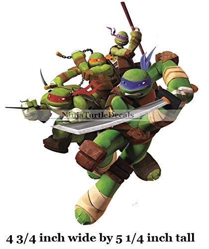 5 donatello donnie leonardo leo michelangelo mikey raphael raph turtle tmnt teenage mutant ninja turtles
