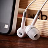 BuyKarNow Mi Super Bass Quality Wired Earphones with Mic for Mobile with Have 3.5 mm Jack (White Color)