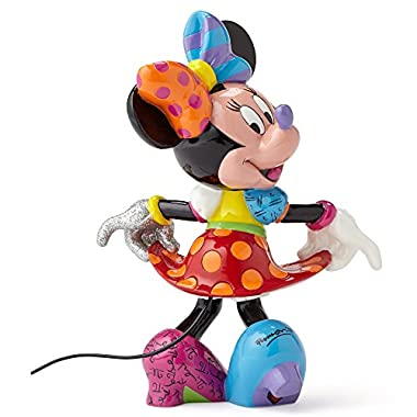 Enesco Disney by Britto by Enesco Minnie Mouse Figurine, 6.25