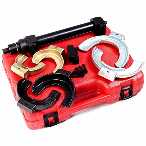 Coil Spring Compressor Interchangable Fork Strut Extractor Tool Set Complete Case - House Deals by House Deals (Image #1)