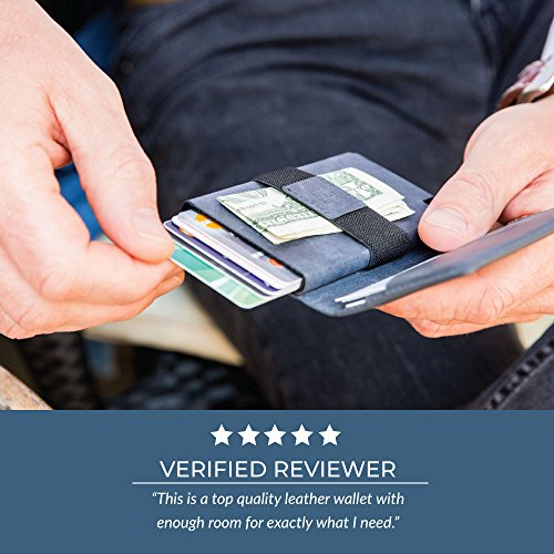 Ekster Parliament Slim Leather Wallet- RFID Blocking- Quick Card Access by Ekster (Image #4)