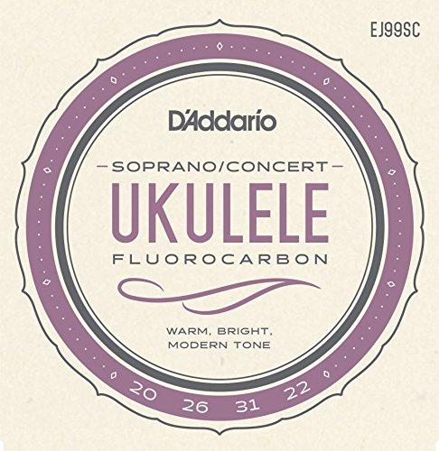 D'Addario EJ99SC Pro-Arté Carbon Ukulele Strings