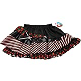 Monster High Petti Skirt - Black with Red Cherries
