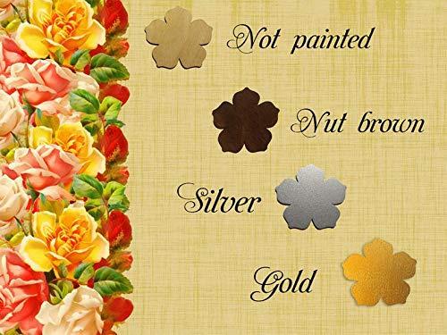 ミラーCalligraphy Rustic K Letterケーキトッパーケーキのデコレーション、ウェディングゴールドケーキデコレーションFavorsパーティーSupplies   B07FJV48YK