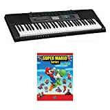 Casio CTK2550 61-Key Keyboard Deluxe Package with Super Mario Series for Piano Book